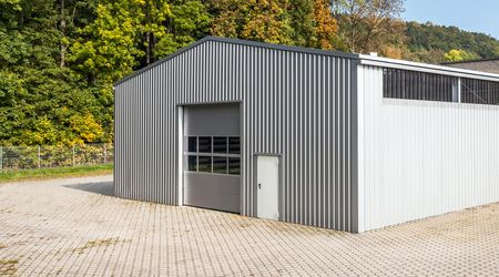 Steel buildings used